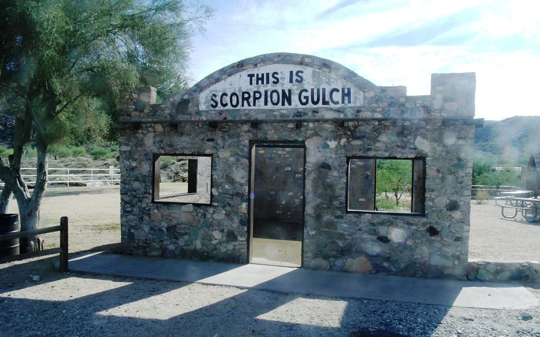 Scorpion Gulch Graffiti Protection