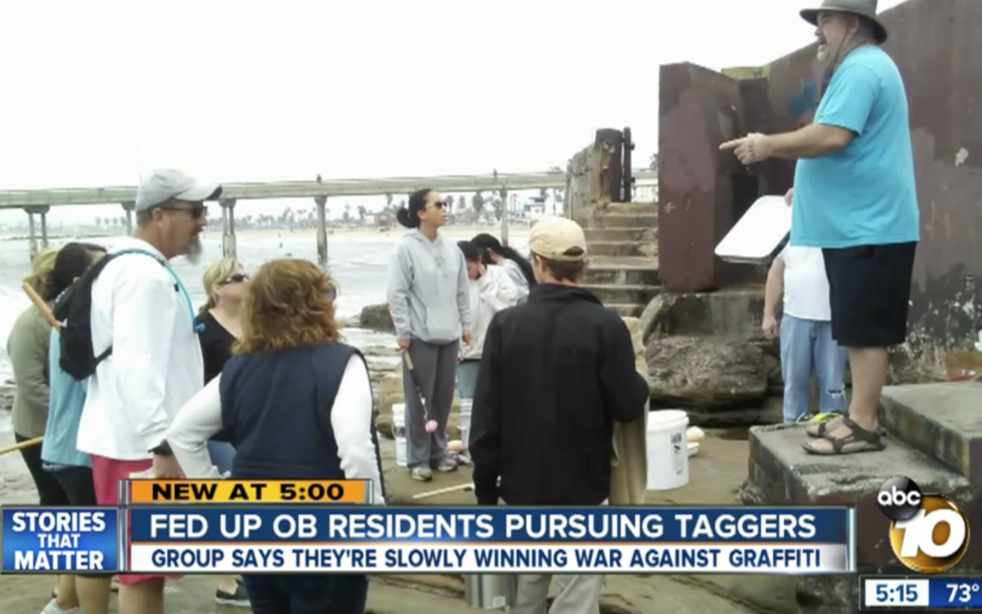 Ocean Beach residents are warning potential taggers: You are being watched
