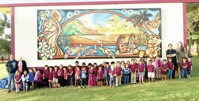 "St. Catherine School ""Heaven on Earth"" Mural"